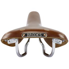 Brooks Swift Chrome Special Siodełko brązowy